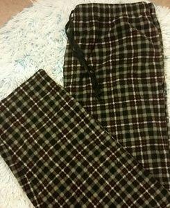 Izod Mens XL Plaid Lounge Leisure Pajama Pants